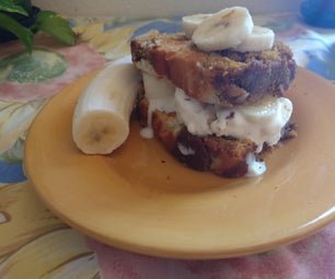 Pumpkin Bread, Ice Cream Sandwich