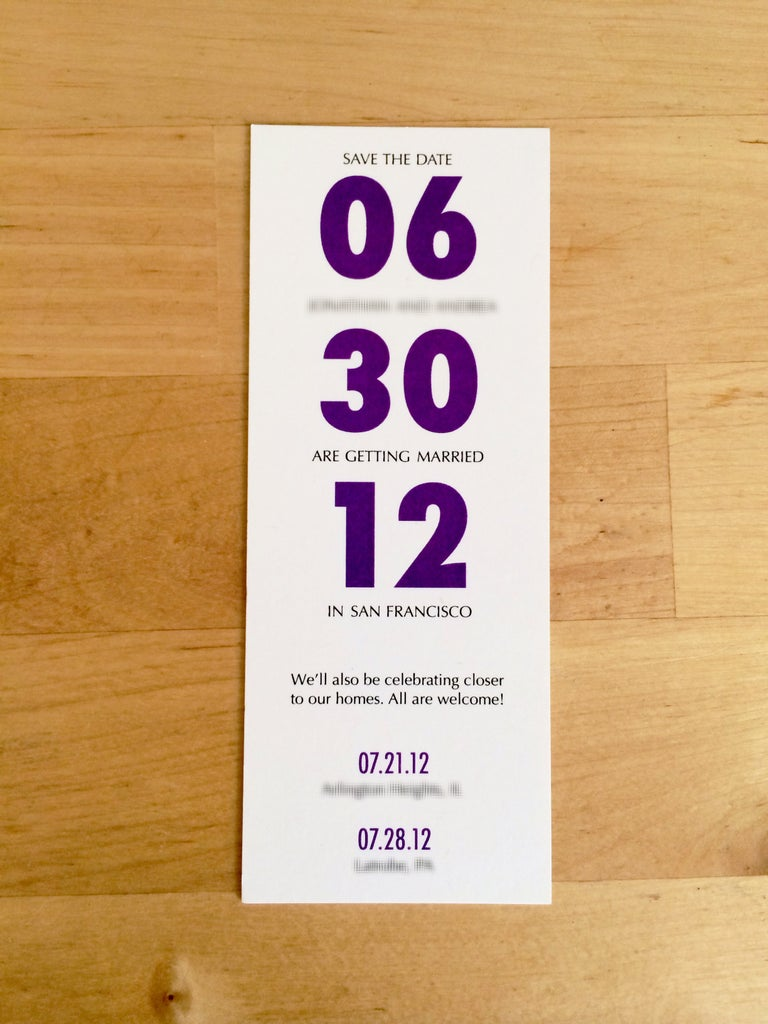 Book It! Save-The-Date Bookmarks
