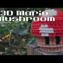 DIY: 3D Mario Mushroom | Bead Sprites (Perler/Hama Beads)