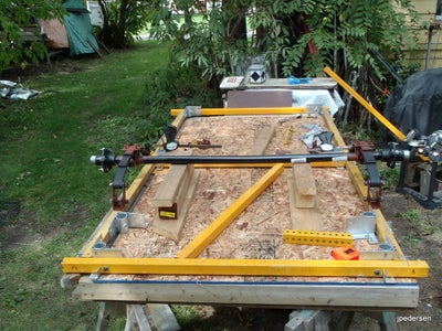 Tools and Work Table