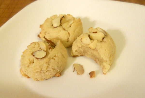 Honey Almond Cookies