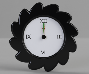The Flower Clock: Made in Fusion 360
