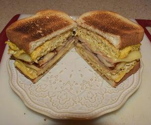 Tongan Breakfast Sandwich