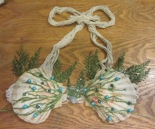 DIY Mermaid Shell Bra