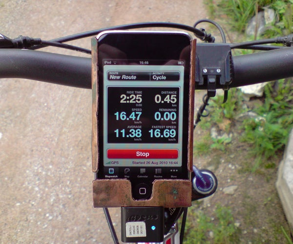 Ipod Touch Bicycle Mount