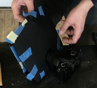 Tape the Black Paper