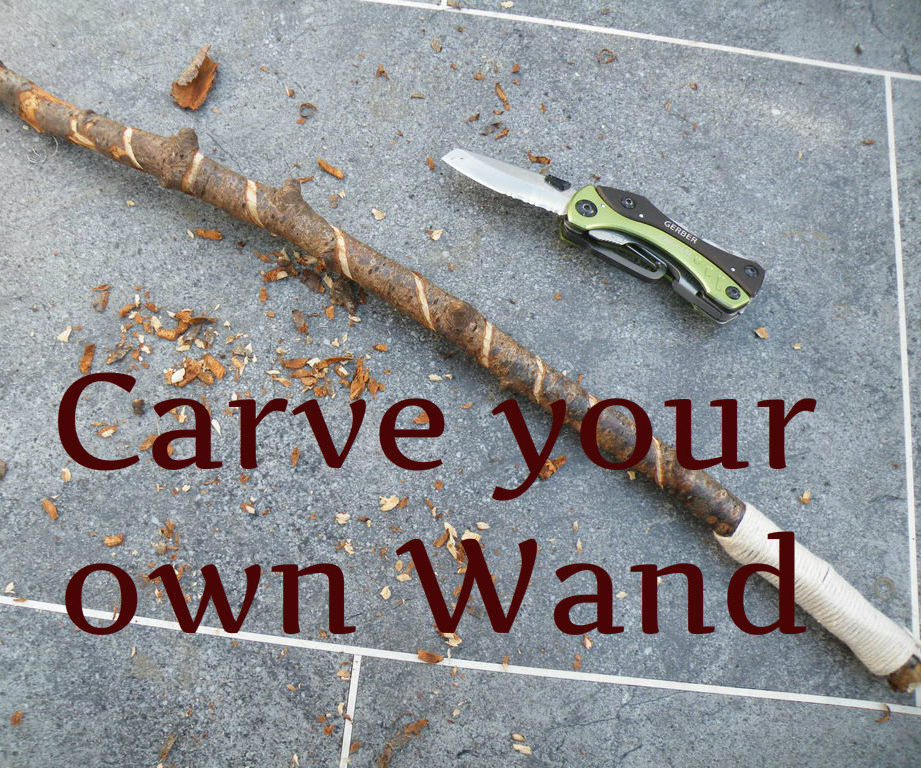 Harry Potter Wand - Cub Scout Craft Project