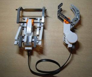 Lego Mindstorms NXT Robotic Hand Prototype