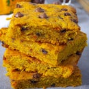 Pumpkin Bars With Chocolate Chips