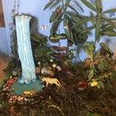 Tropical Rainforest Ecosystem Diorama