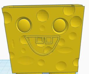 How to Make a Spongebob Container