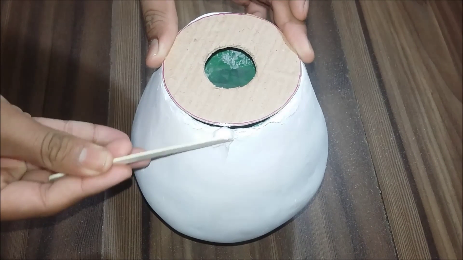 Use Masking Tape and Plaster of Paris