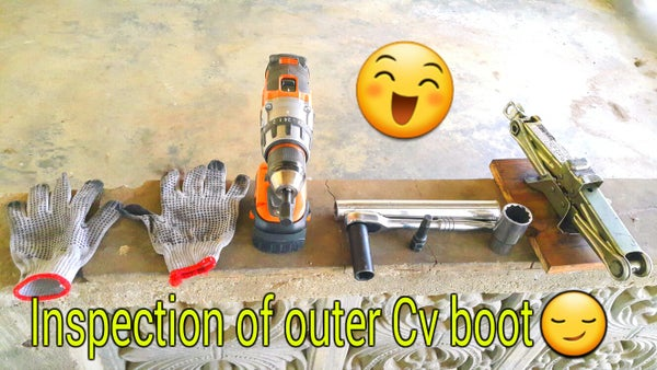 Outer Cv Joint Inspection.