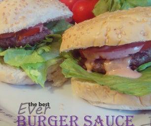 The Best Ever Burger Sauce!