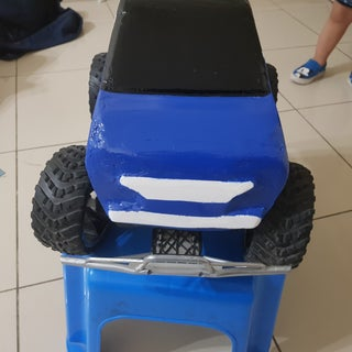 RC Monster Truck 1/14 to Smart Car 1/8
