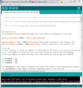Program the Arduino Board