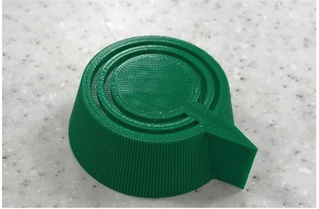 Print Dial, Button Cover, and Button Seat