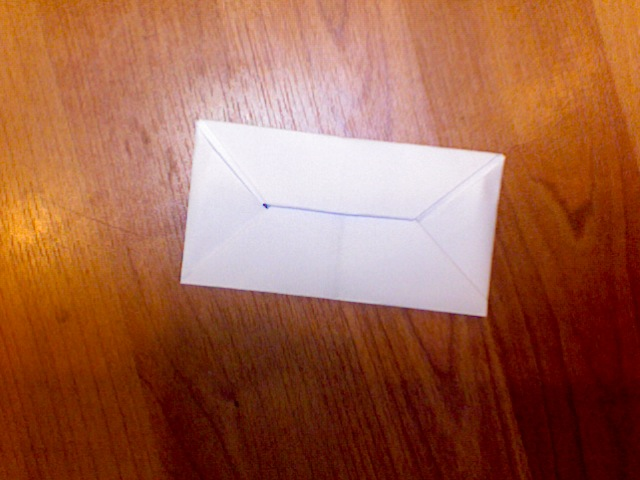 How to make a paper envelope! :)