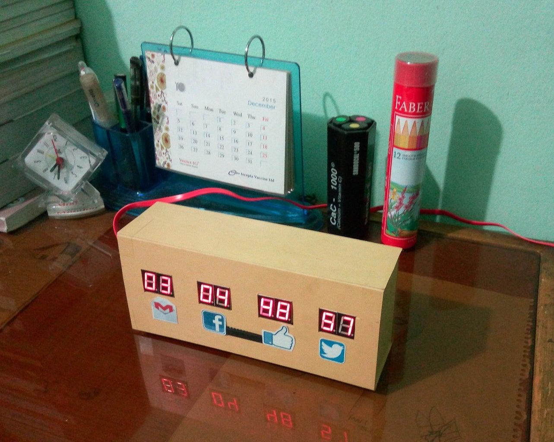 Raspberry Pi Desk Notifier