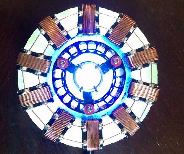 L.E.D Arc Reactor for 'Iron' Man Costume