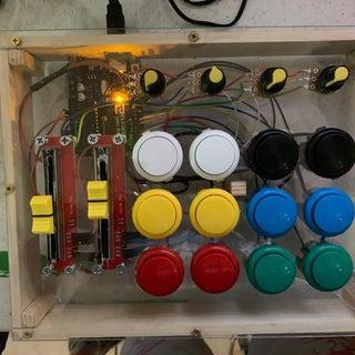 Arcade Button MIDI Controller