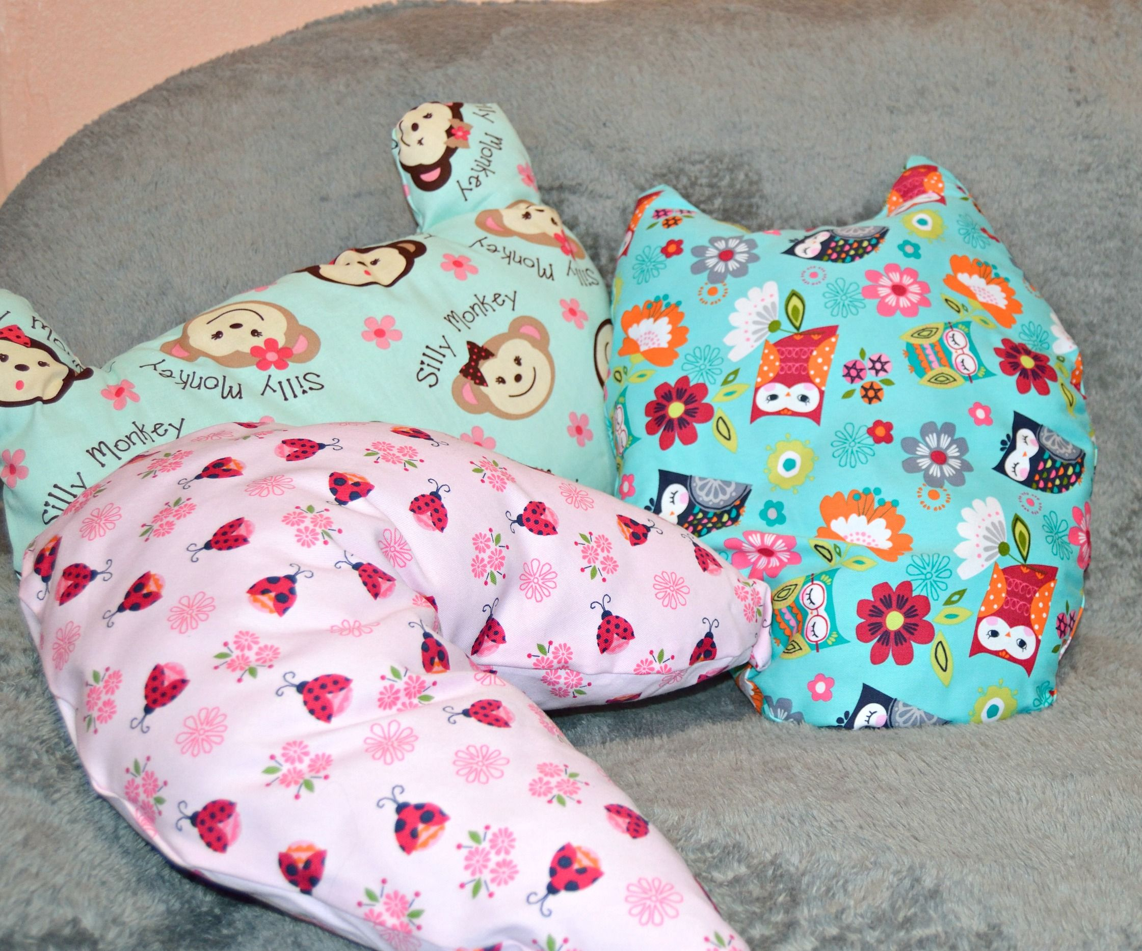 DIY No Sew Toy-shaped pillows