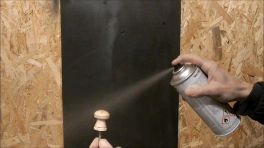 Making a New Knob - This Step Is Optional