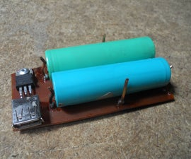 Li-ion Phone Charger From Trash