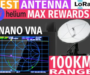 Antenna Testing Tutorial | How to Use NanoVNA V2 SAA-2N | Best Antenna for Helium Hotspot