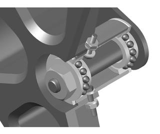 Mower Wheel Repair
