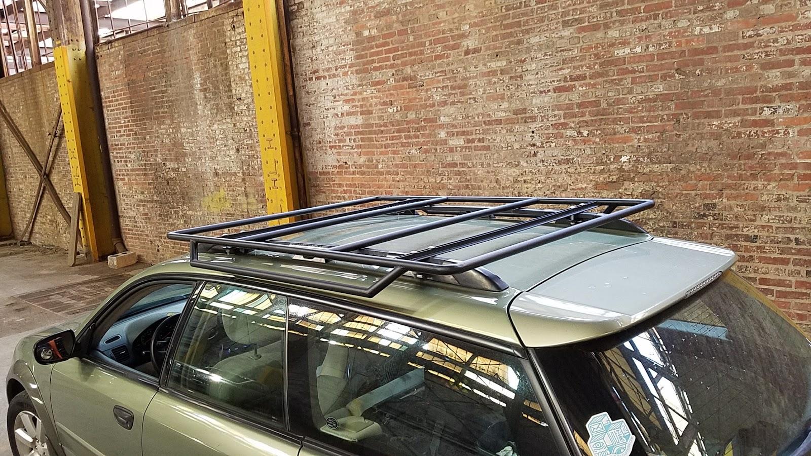 $25 Steel Roof Rack - No Welding