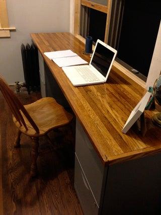 Red Oak Desk 7 Steps With Pictures, Red Oak Desk
