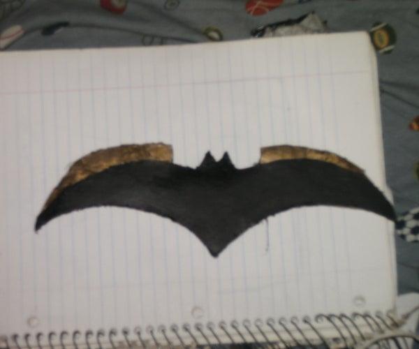 How to Make  Batman's Batarang From Cardboard