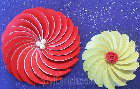 Your Spiral Flower Is Ready!