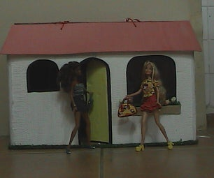 Doll House - Cardboard Recycle
