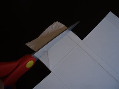 Cutting the Securing Flaps