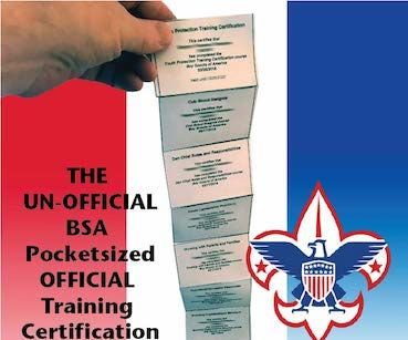 The Un-Official BSA Pocketsized Official Training Certification Collection