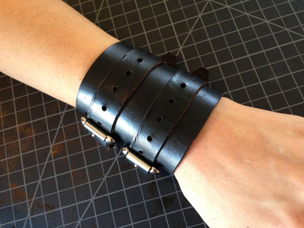 Leather Wrist Wraps/cuffs