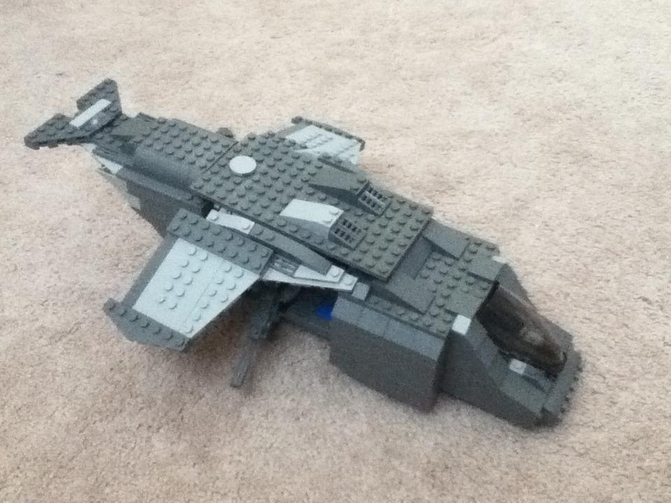 LEGO Halo UNSC Falcon/Pelican Gunship