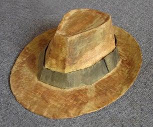 How to Make a Fedora (Indiana Jones')
