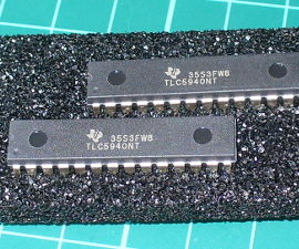 Arduino and the TLC5940 PWM LED Driver IC