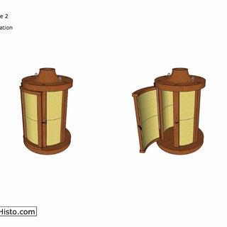 Medieval Lantern Plan