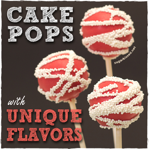 How To Make Cake Pops With Unique Flavors