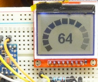 Gauges and Progress Bars for Arduino Monochrome Displays
