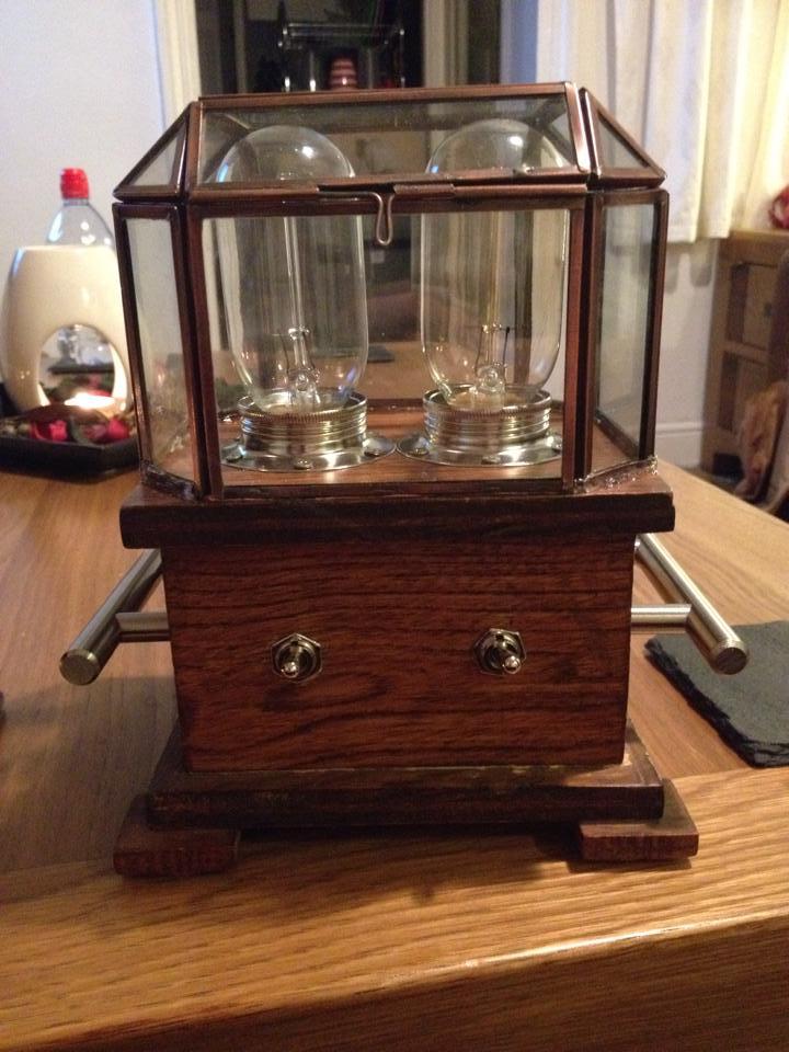 The Twin Edison 'Steampunk' Lamp