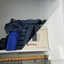 Folded Clothes Hidden Compartment