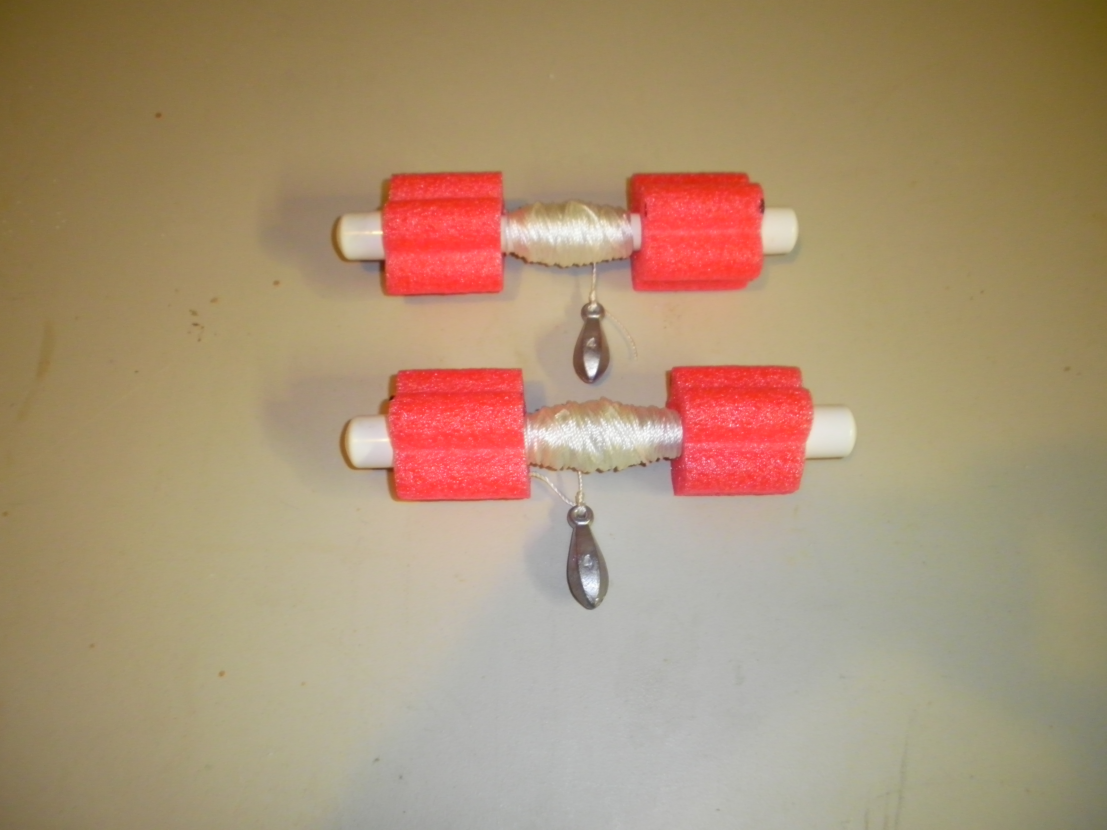 PVC Marker Buoy for Drift Fishing or Boating