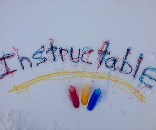 Easy Snow Paint
