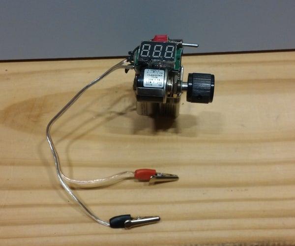 Mini Adjustable Voltage Regulator