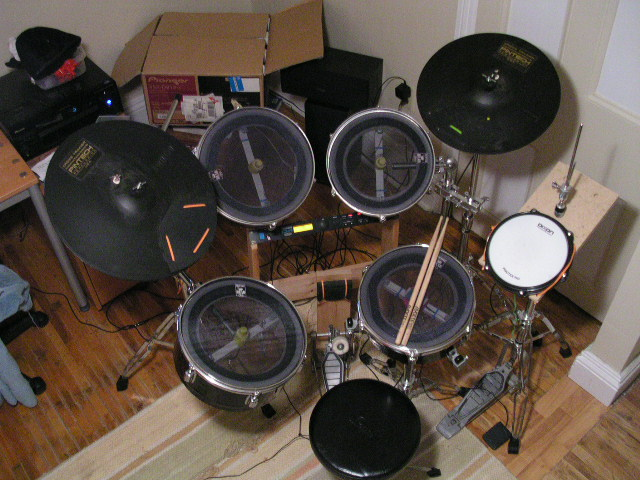 DIY Electronic Drums (Drum Module Req'd)